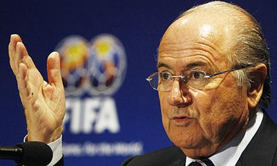 FIFA boss Sepp Blatter