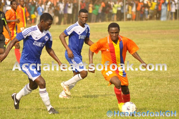 Hearts of Oak reserves drew with Liberty Professionals Reserves