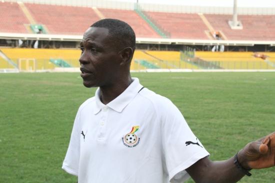 Black Maidens coach Evans Adotey