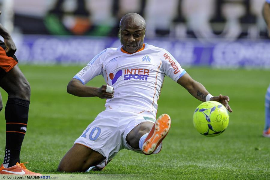 Andre Ayew in action for Marseille