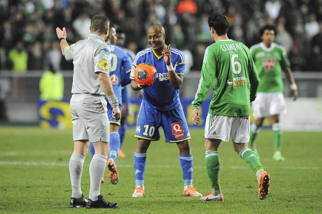 Andre Ayew returned to face Saint-Etienne and lasted full-time