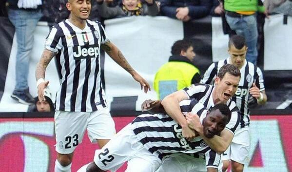 Kwadwo Asamoah scored first goal for Juventus this season
