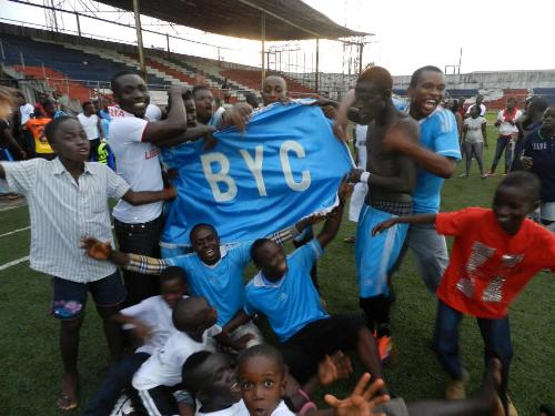 BYC have arrived in Ghana to take on Kotoko