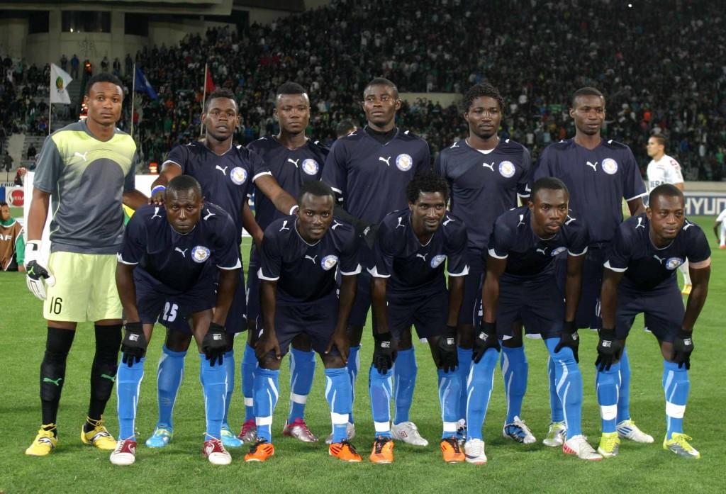 Berekum Chelsea have a 2-0 lead against FC Atlabara