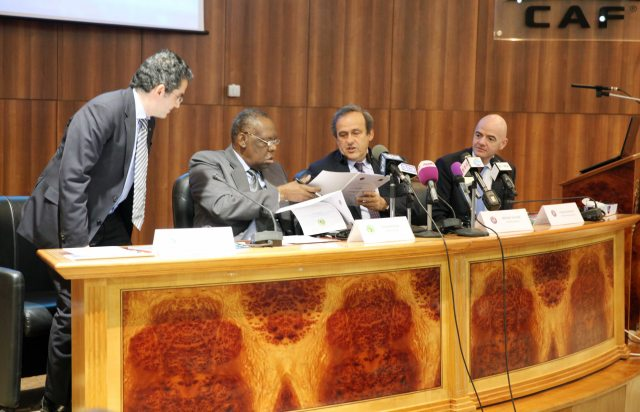 CAF, UEFA signs MOU of mutual Co-operation