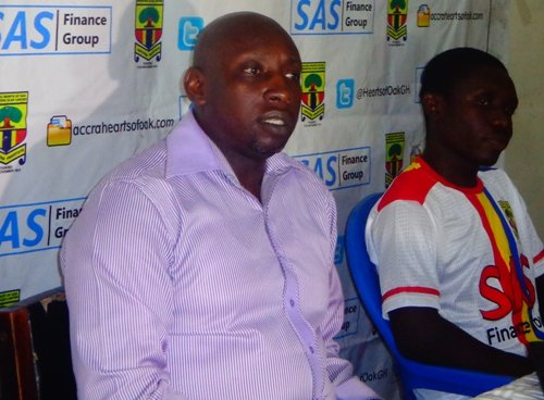 Hearts of Oak chief Neil Armstrong Mortagbe