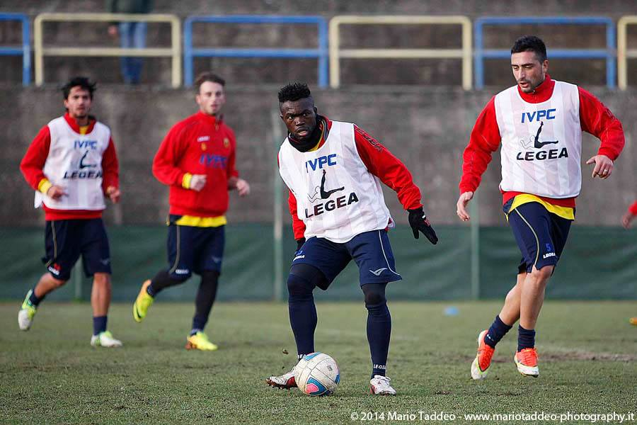 Daniel Kofi Agyei was involved in a car crash with his Benevento team-mate