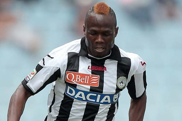 Emmanuel Agyemang-Badu scored for Udinese
