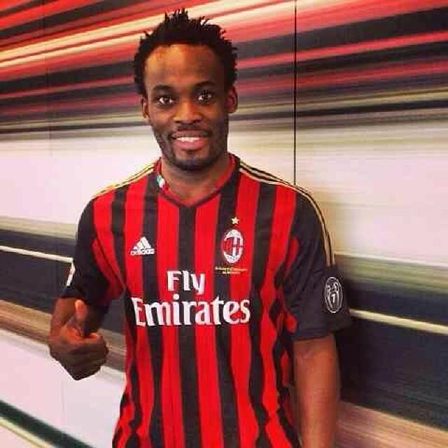 Ghana midfielder Essien could make Milan debut against Napoli