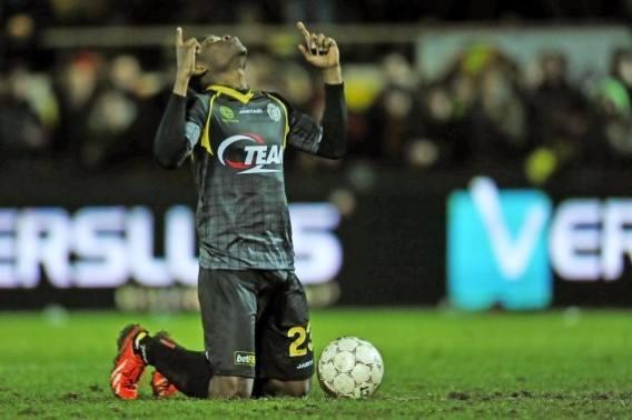 Eugene Nana Ansah scored a match winnng penalty for Lokeren