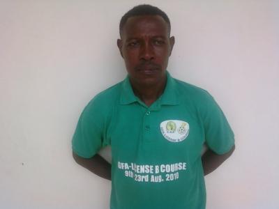Black Maidens coach Evans Augustine Adotey