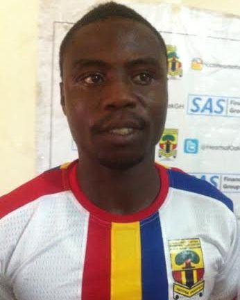 New Hearts of Oak striker Ezekiel Tetteh
