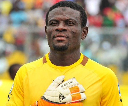 Ghana goalkeeper Fatau Dauda