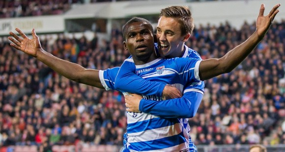 Fred Benson came off the bench to score for PEC Zwolle