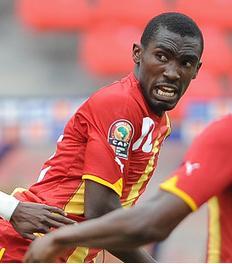 Ghana defender Lee Addy