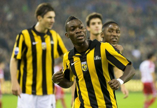Ghana winger Christian Atsu impressibg at Vitesse