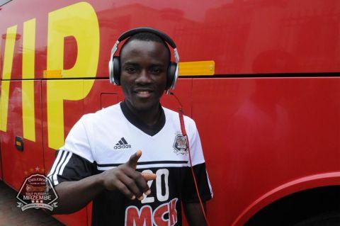Ghana winger Solomon Asante