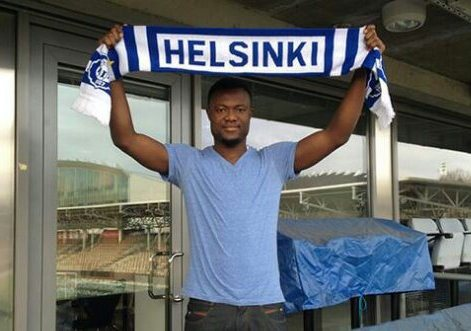 Gideon Baah has signed for HJK Helsinki.