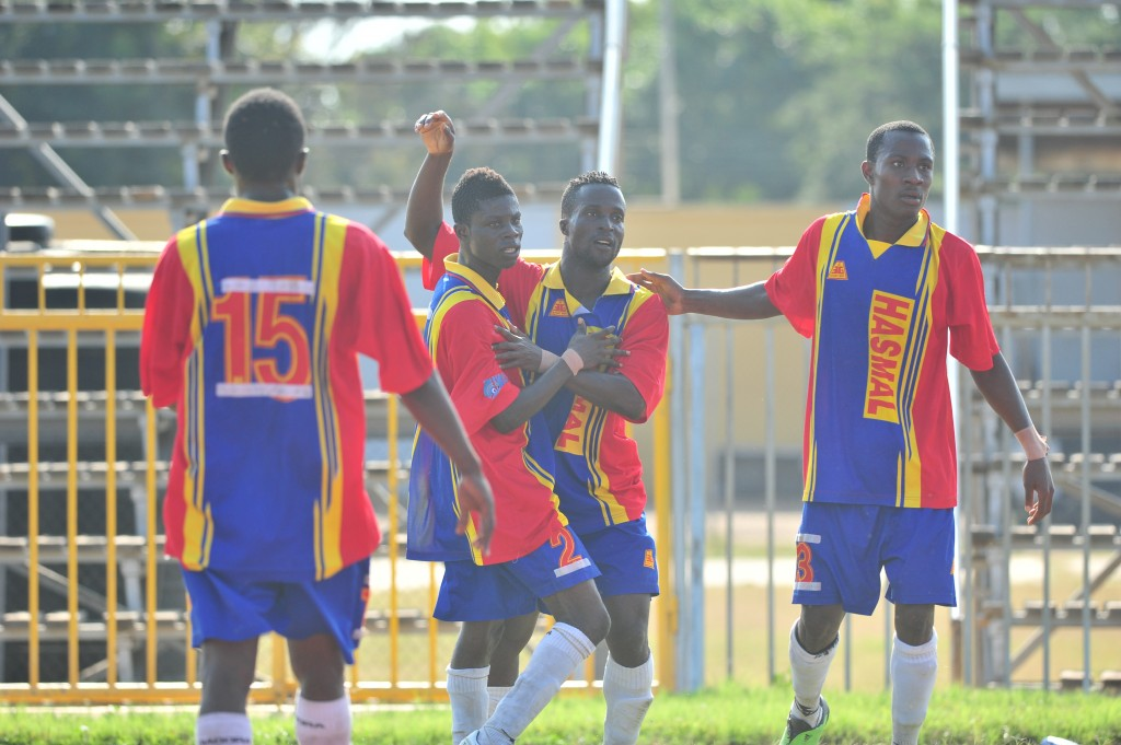 Hasaacas could only managed a goalless draw against Amidaus