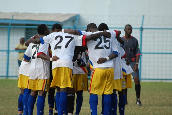 Hearts lost 3-0 against All Stars