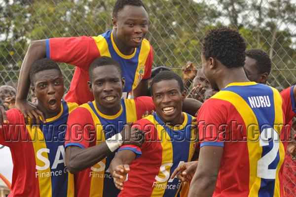 Hearts of Oak beat Aduana Stars on Saturday