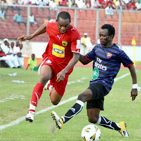 Michael Helegbe was with Asante Kotoko but now with Medeama