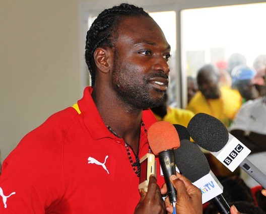 John Mensah is delighted to return to the pitch