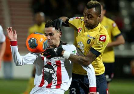 Jordan Ayew has featured in all Ligue 1 matches since joining Sochaux