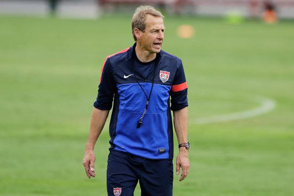 U.S. men's national team manager Jurgen Klinsmann has found a unique way to beat the LA traffic.