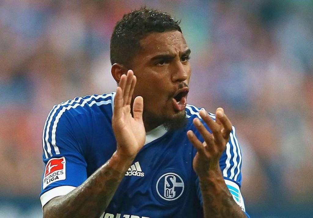 Kevin-Prince Boateng scored for Schalke 04