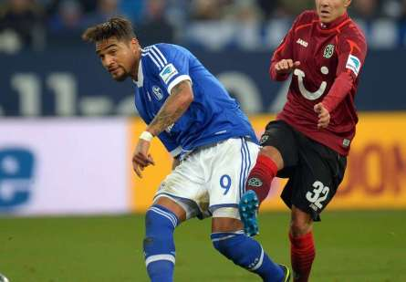 Kevin-Prince Boateng has been immense for Schalke in the second half of the season