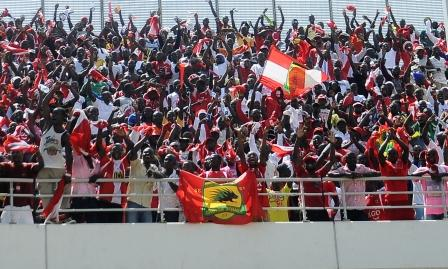 Kotoko supporters will remain home for BYC clash