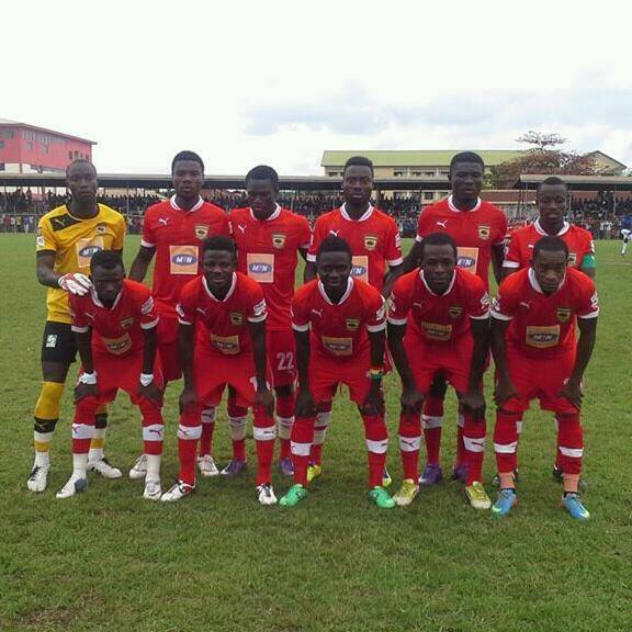 Kotoko have crashed out of the Champions League