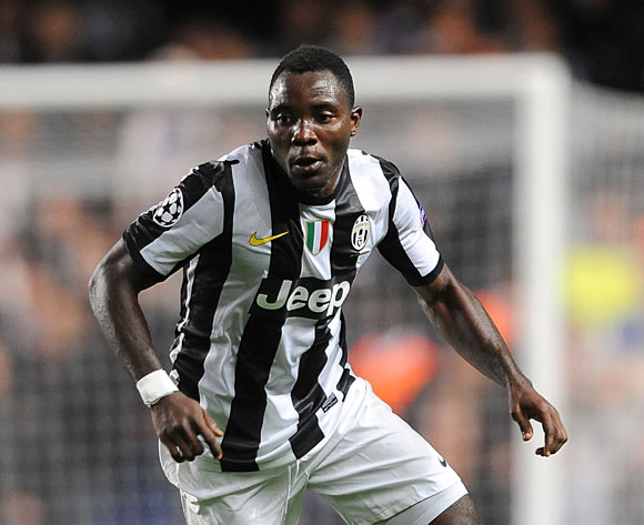 Kwadwo Asamoah was on target for Juventus