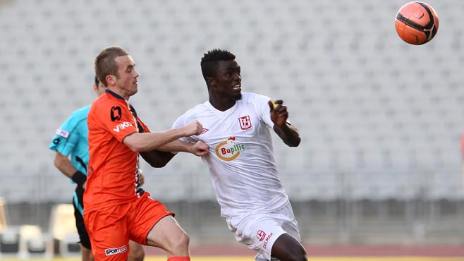 Kwame Amponsah Karikari pulled out of action with injury