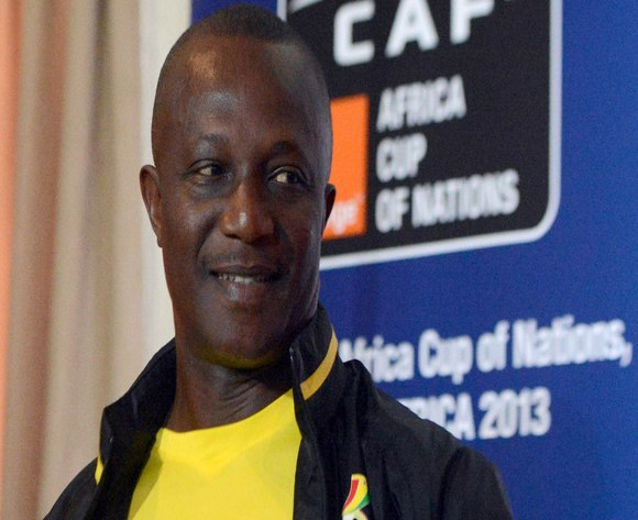 Kwesi Appiah is firm on the ground