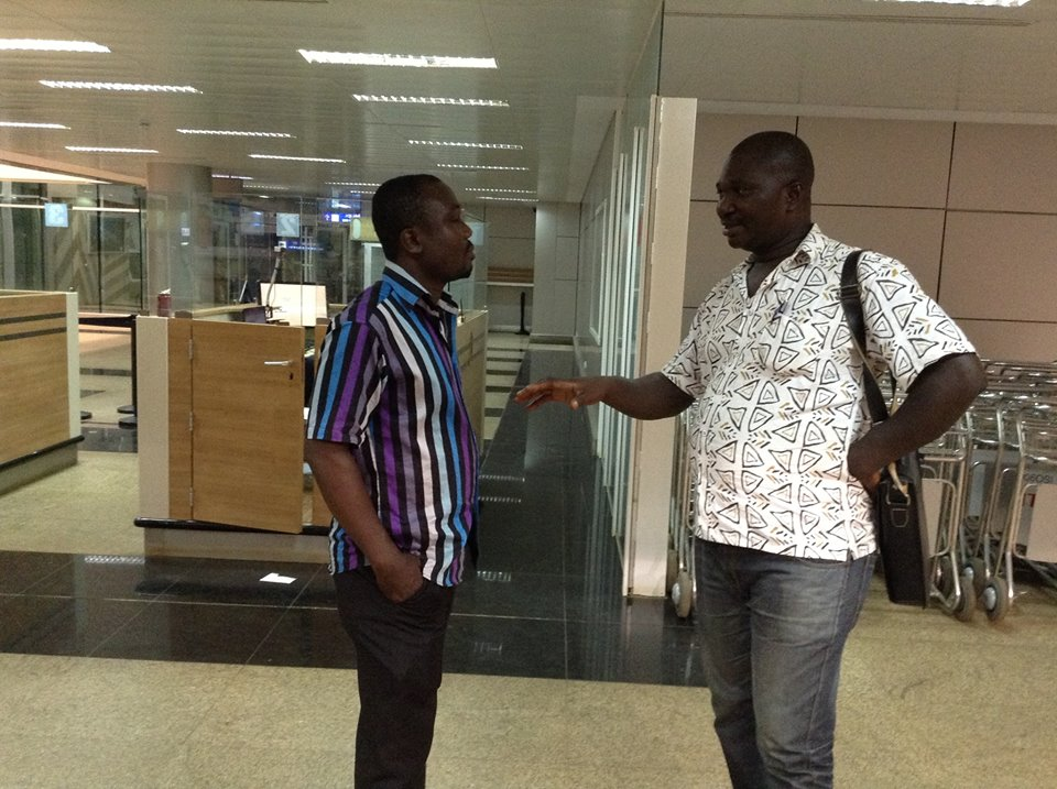 Hard working chairman James Essilfie (left) and powerful Accra rep Edmund Ackah (right)