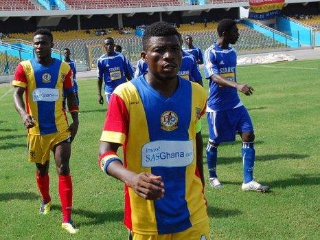 Hearts of Oak captain Moro Abubakar