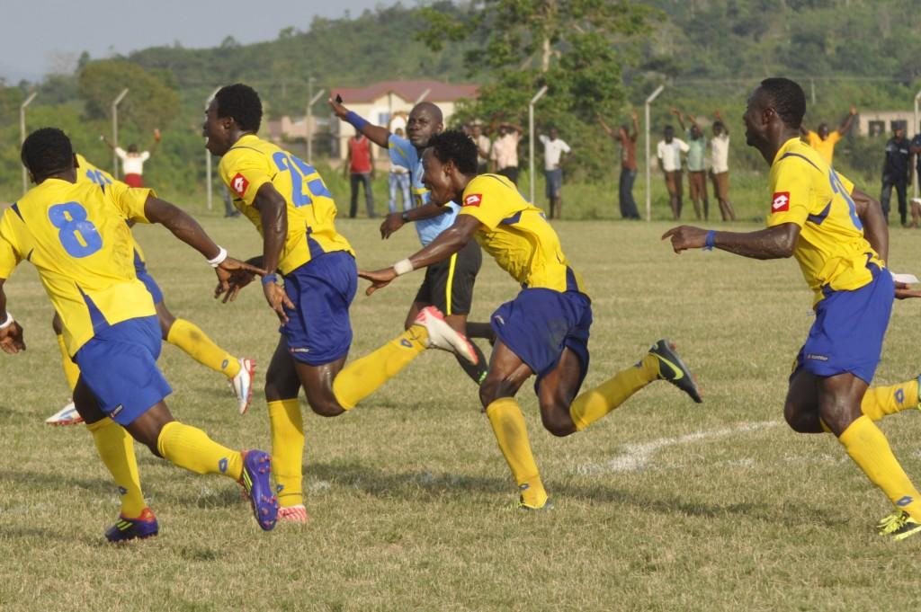 New Edubiase United beat Dwarfs on Thursday