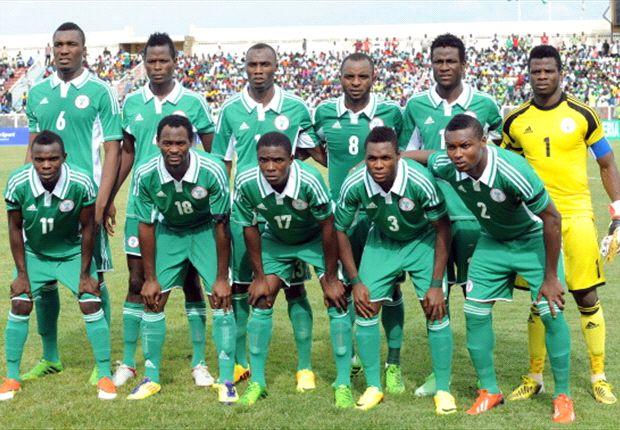 Nigeria's CHAN team