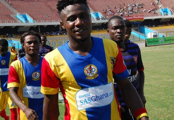 Nuru Sulley disappointed with Hearts draw