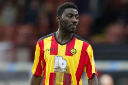 Prince Buaben only had one training session but fitted into Firhill side