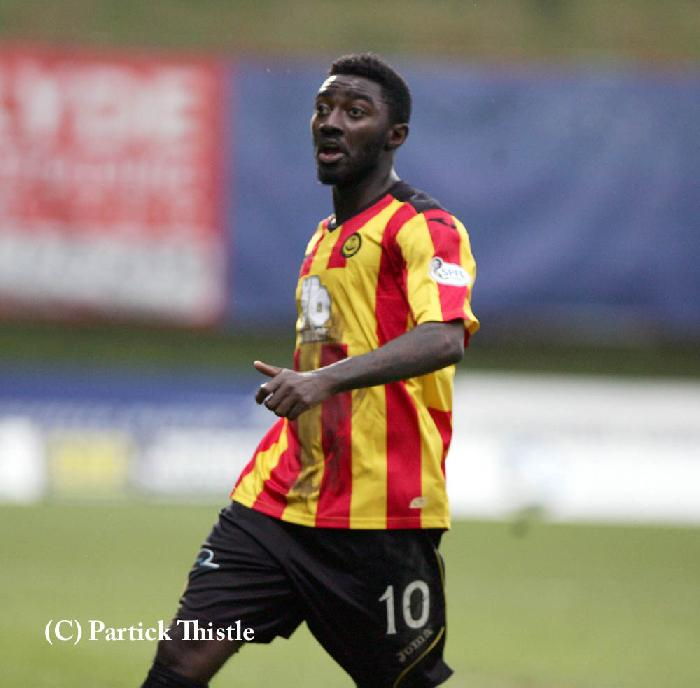 Prince Buaben has been impressive for Partick Thistle