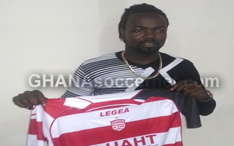 Prince Tagoe cancels Club Africain contract