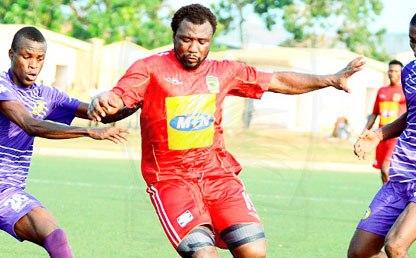 Asante Kotoko midfielder Rahim Ayew