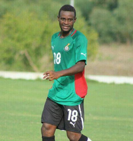 Ebusua Dwarfs striker Richard Gadze
