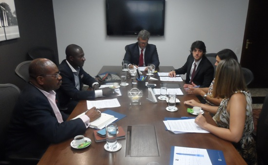 Representatives of Kenpong Travel and Tour in Brazil to seal the deal