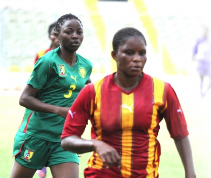 Safia Abdul Rahman in action for Black Queens.