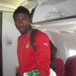 Ghana goalie Adams won't buckle under pressure ahead of Montenegro friendly