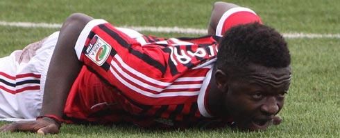 Sulley Muntari out of Athletico clash